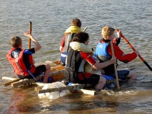 Bridestowe Scouts Rafting