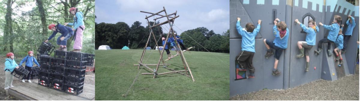 Cub/Scout Camp Summer 2018 - Bridestowe Scouts Devon