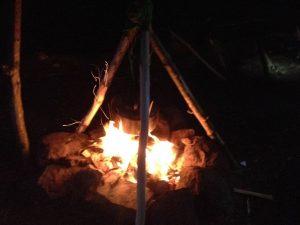 Scout Camp Fire